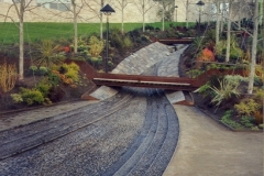 Getty Center Streambed